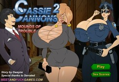 Cassie Cannons 2: Mounds of Trouble - Play online