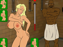 Cheerleader Coach and Black Monster Cock - Game for adults