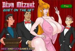 Diva Mizuki: Quiet On The Set - Play online