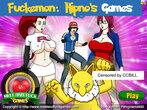 Fuckemon: Hipno Games free online sex game