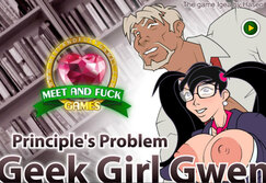 Geek Girl Gwen: Principles Problem - Play online