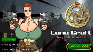 Lana Craft and the Serpent Amulet - Play online