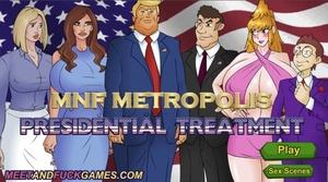 MNF Metropolis: Presidential Treatment - Play online