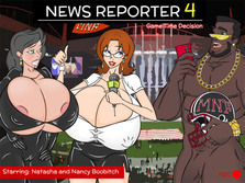 News Reporter 4: Game Time Decision - Play online