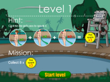 Swimming Pool Monster - Play online