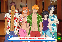 Boobieleached: A Trip to the hot Springs - Game for adults