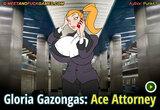 Gloria Gazongas: Ace Attorney free online sex game