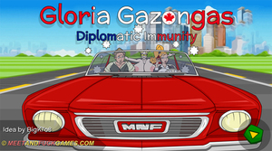 Gloria Gazongas: Diplomatic Immunity - Play online