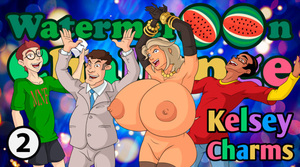 Kelsey Charms Watermelon Challenge Part 2 - Play online