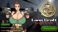 Lana Craft and the Serpent Amulet free online sex game
