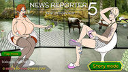 News Reporter 5: The Interview free online sex game